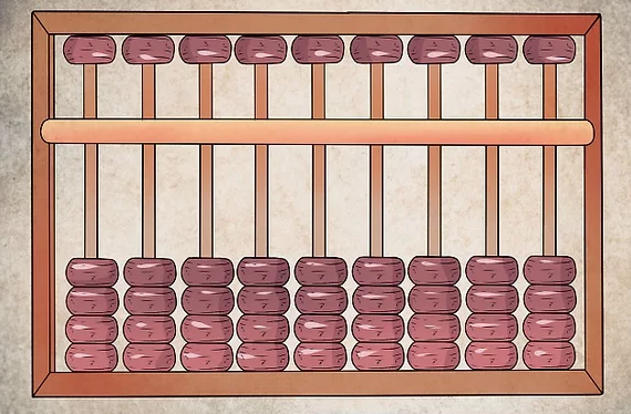 Abacus techniques: Resetting Abacus to zero