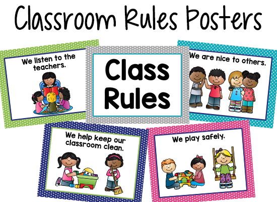 Classroom rules for students