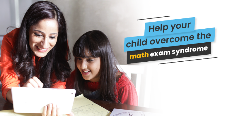 Help your child overcome the Math Exam Syndrome by joining Cuemath