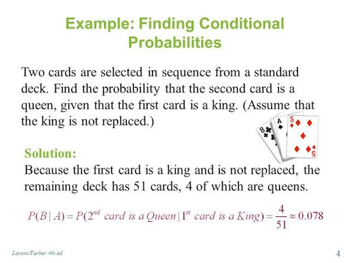 Example finding conditions probabilities image