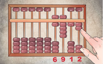 6912 on abacus