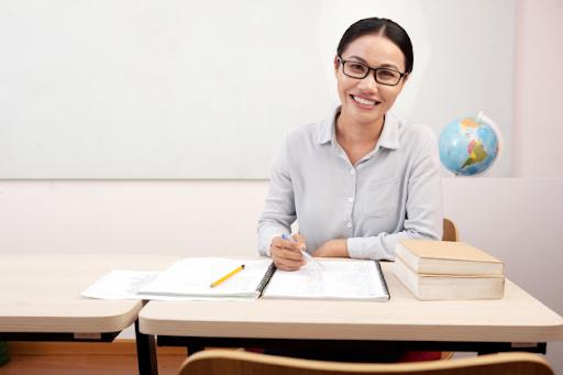 Teacher who is confident