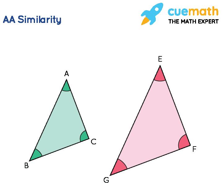AA Similar triangles