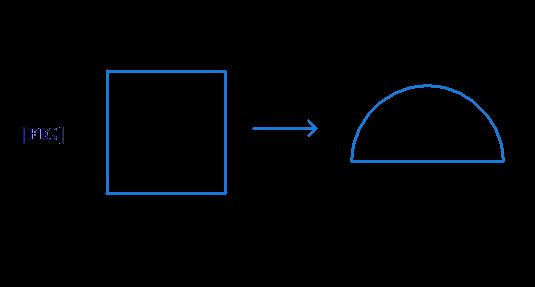 Square changed to semi-circle