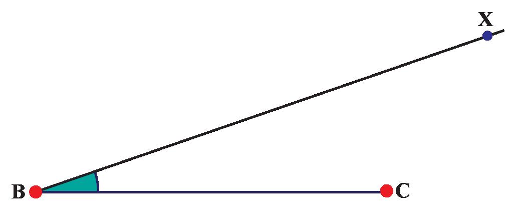 Line, angle, and ray