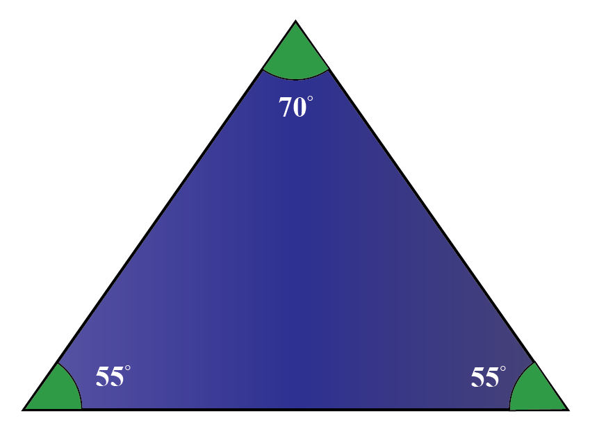 Properties of Acute Triangle | All 3 interior angles of triangle are acute.
