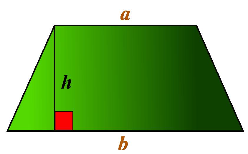 Isosceles trapezoid properties - Area of isosceles trapezoid