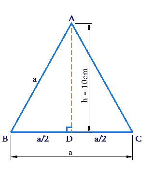 Example: Equilateral triangle