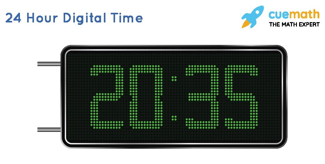 24 Hour Digital TIme