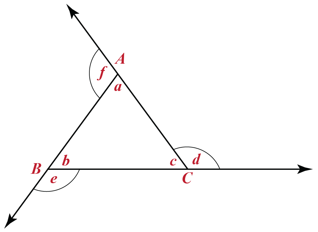 Exterior and Interior Angle