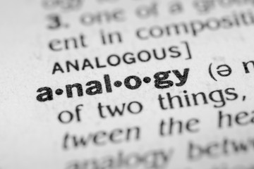 What is an analogy?