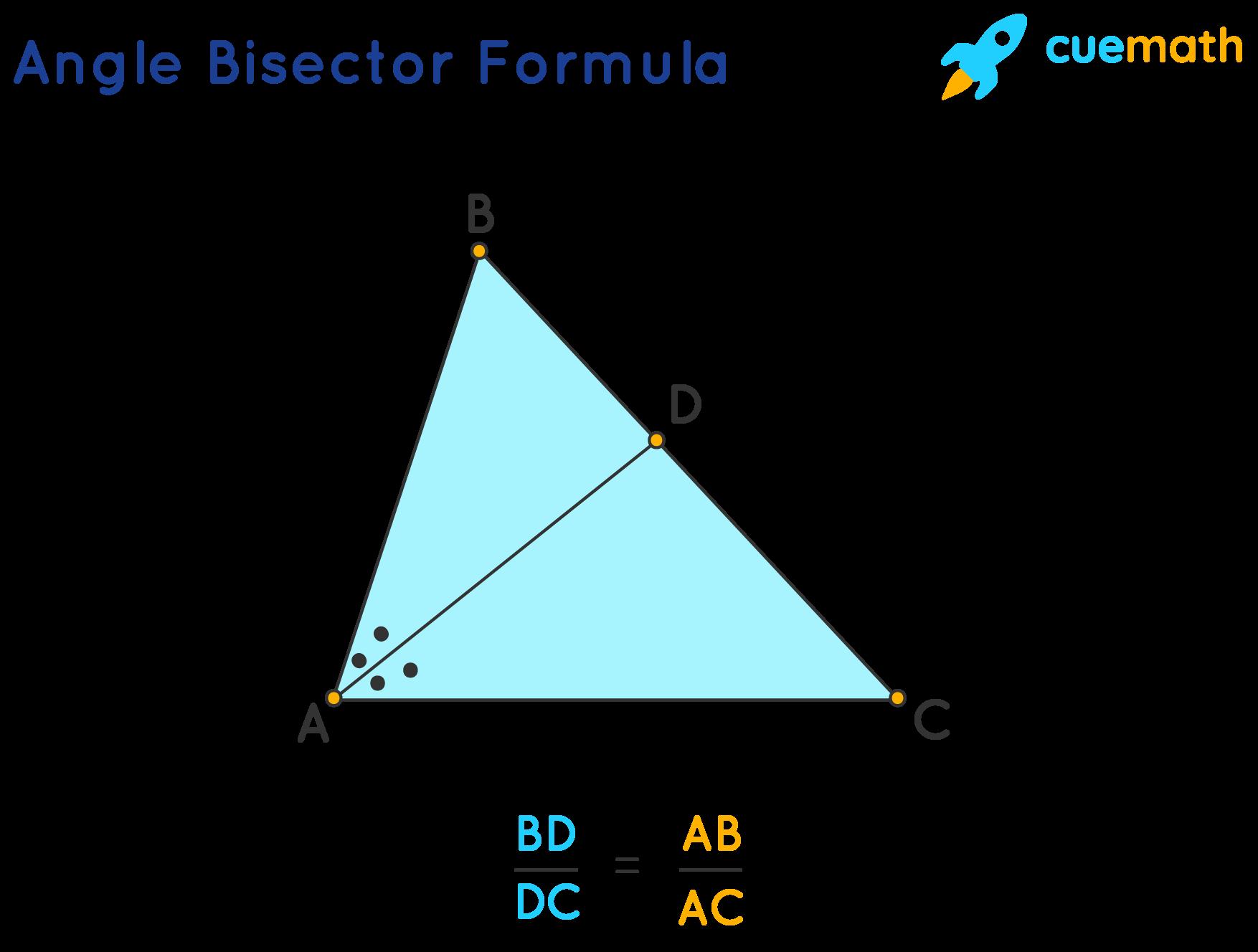 angle bisector formula