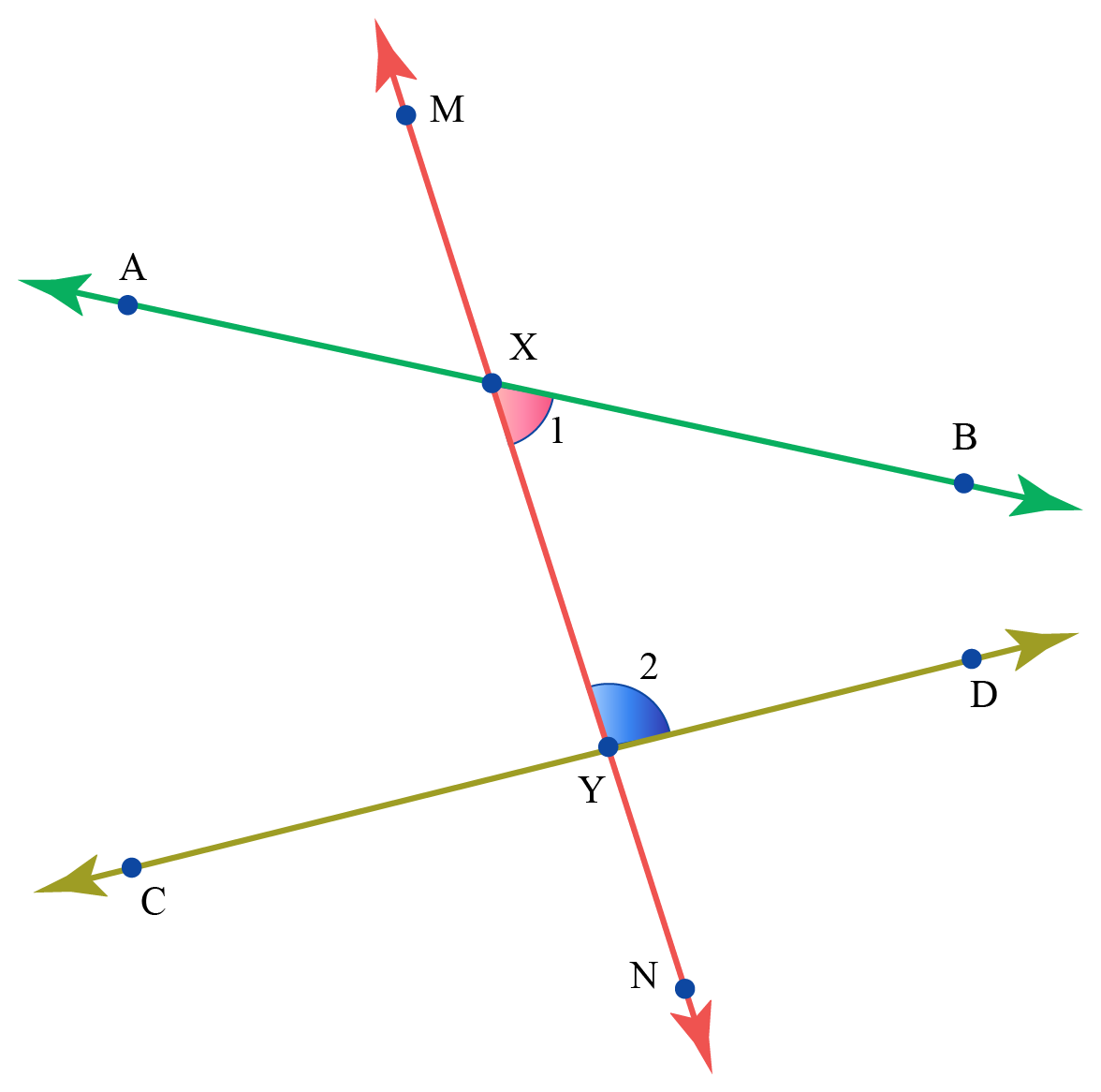 examples of co-interior angles