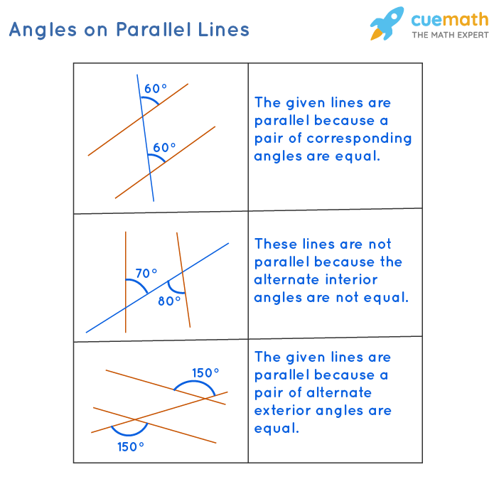 Angles on Parallel Lines