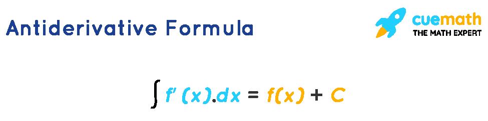 Antiderivative Formula