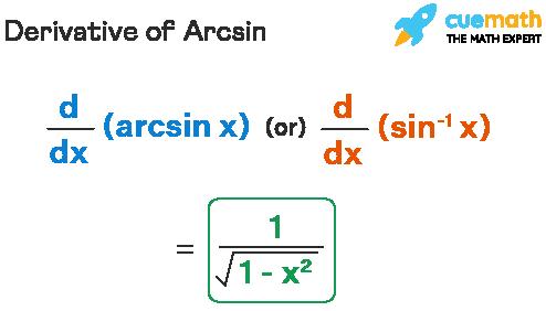 Derivative of arcsin formula