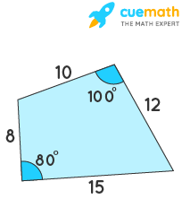area of quadrilateral with sides example