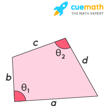 area of quadrilateral using sides
