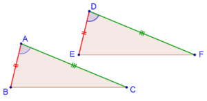 Side-Angle-Side criterion