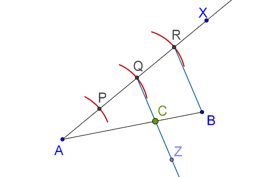 Line, ray, arcs and bisectors