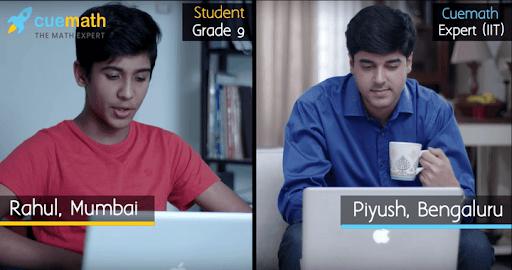 teacher teaching kid through online