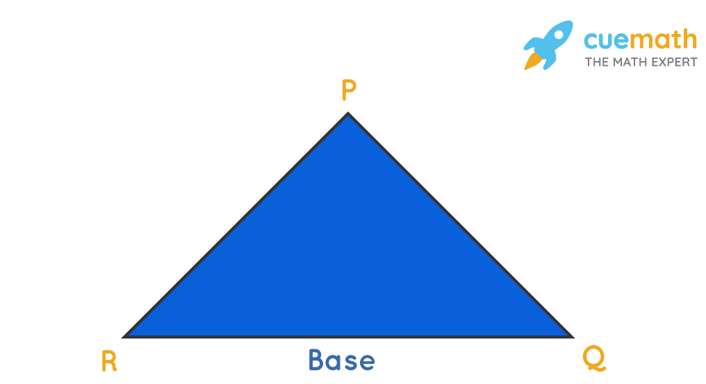 base of a triangle