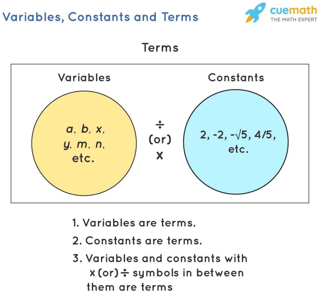 variable, constants, and terms