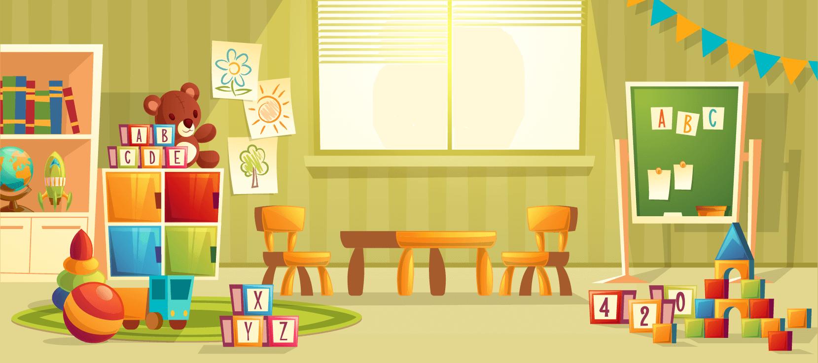 kindergarten class room