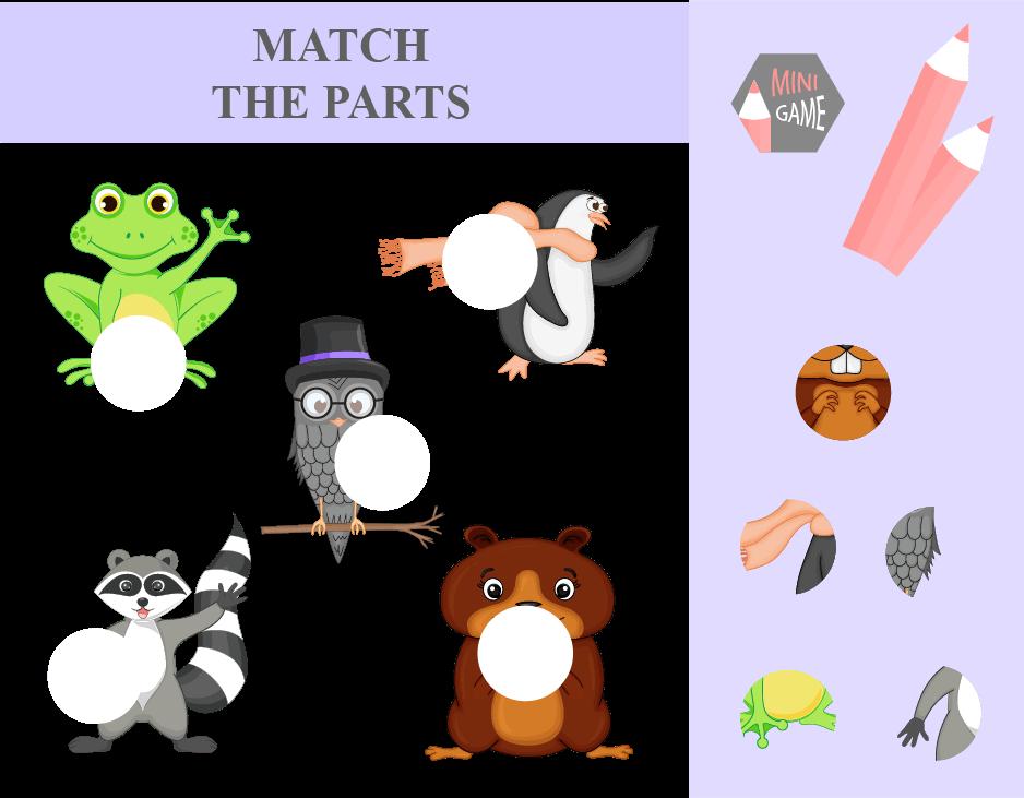 mini game on matching