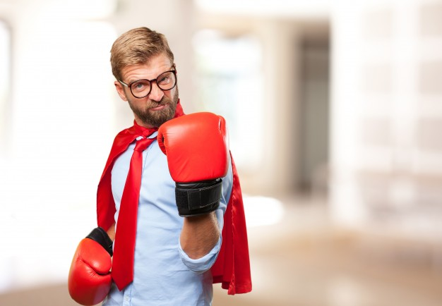 A person who is looking to challenge other people for a fight