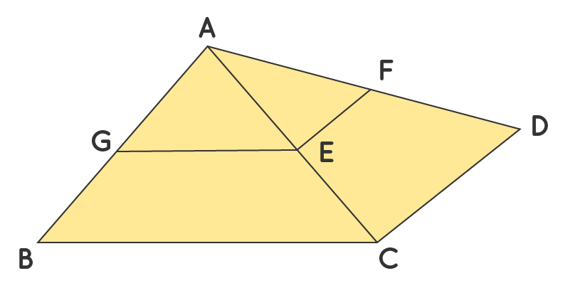 Basic proportionality theorem for example 2