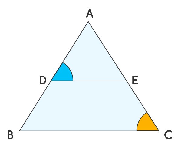 Basic proportionality theorem for example 3