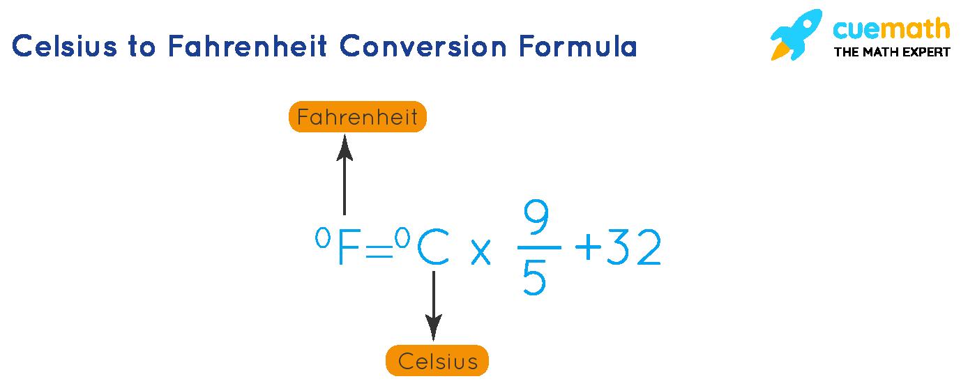 C to F Formula
