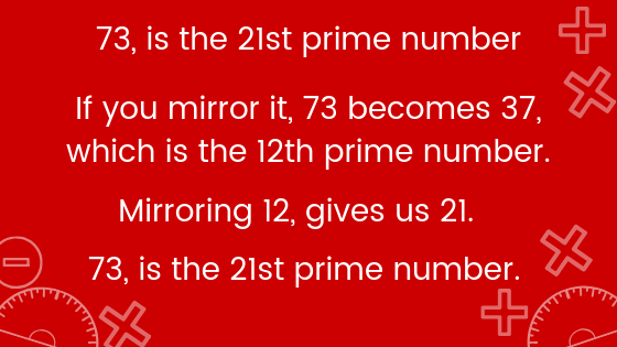 Why 73 is a special number