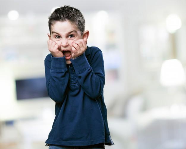 Kid is fear of math