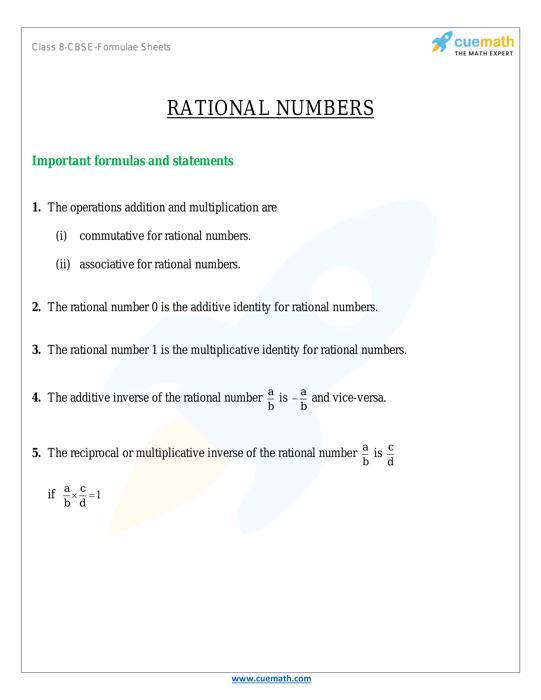 Class 8 Maths Formulas Download All Math Formulas - Cuemath