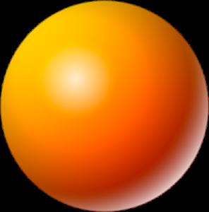 Symmetrical 3-dimensional circular object
