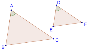 Included angles are equal