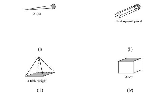 Which are prisms among the following