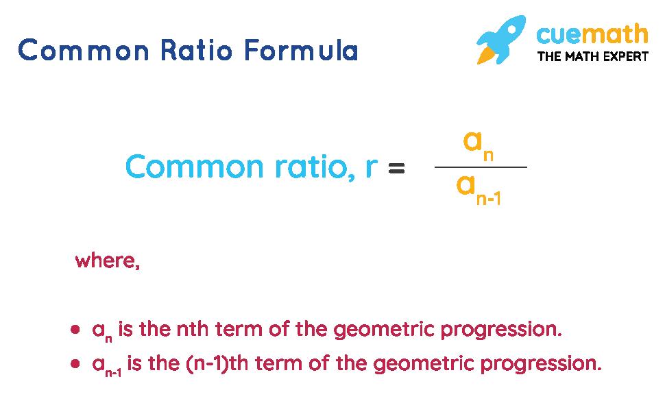 formula for common ratio
