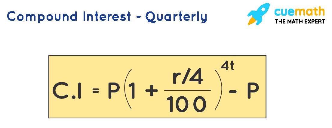 Compound Interest - Quaterly