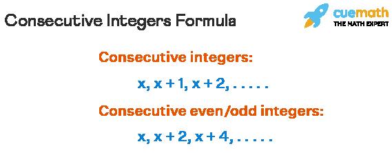 Consecutive Integers Formula
