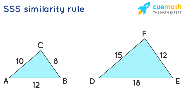 Similar triangles by SSS rule