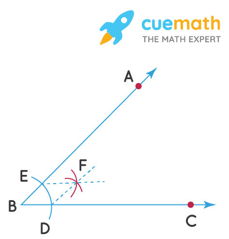 construction of angle bisector arc