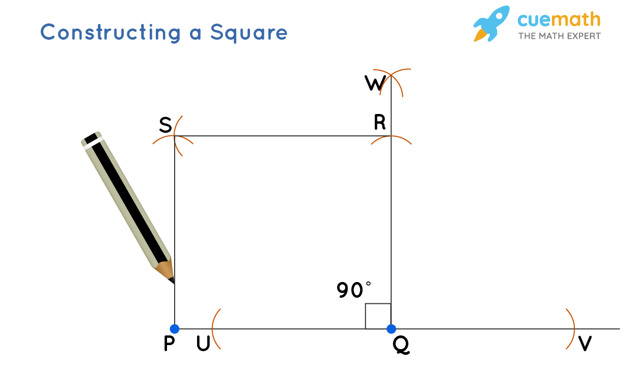 constructing square stepwise