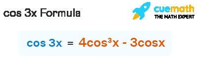 cos 3x formula