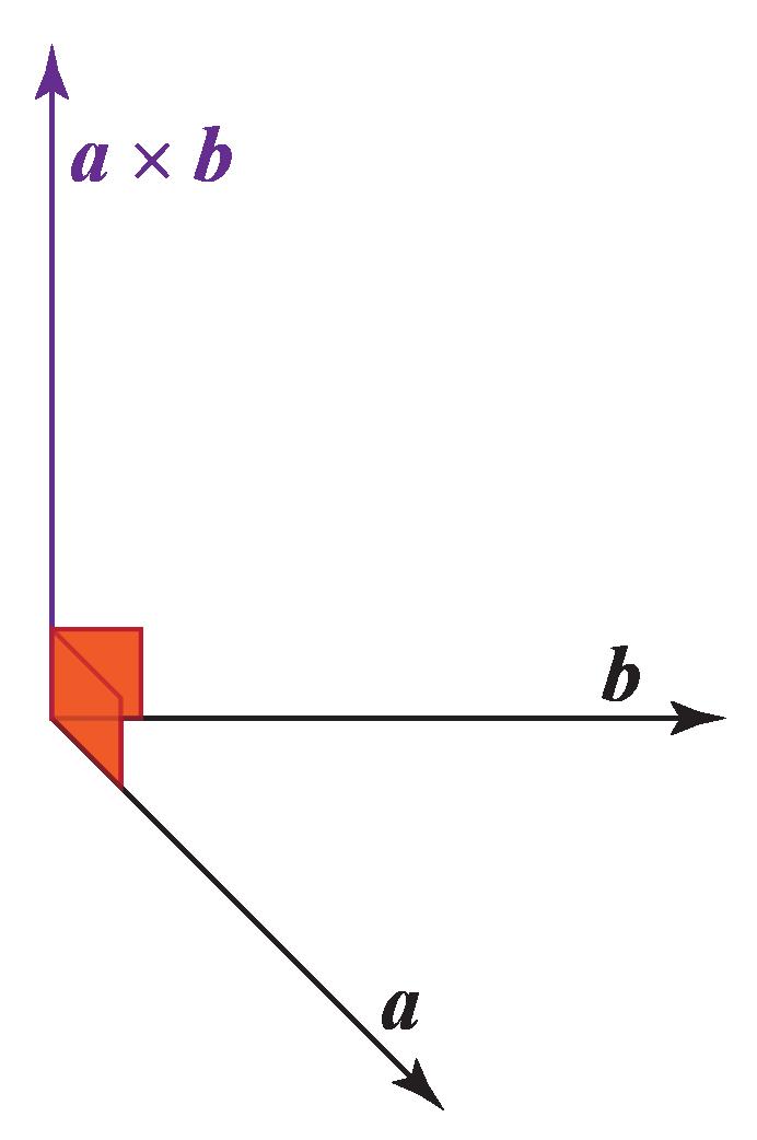 cross product of vectors