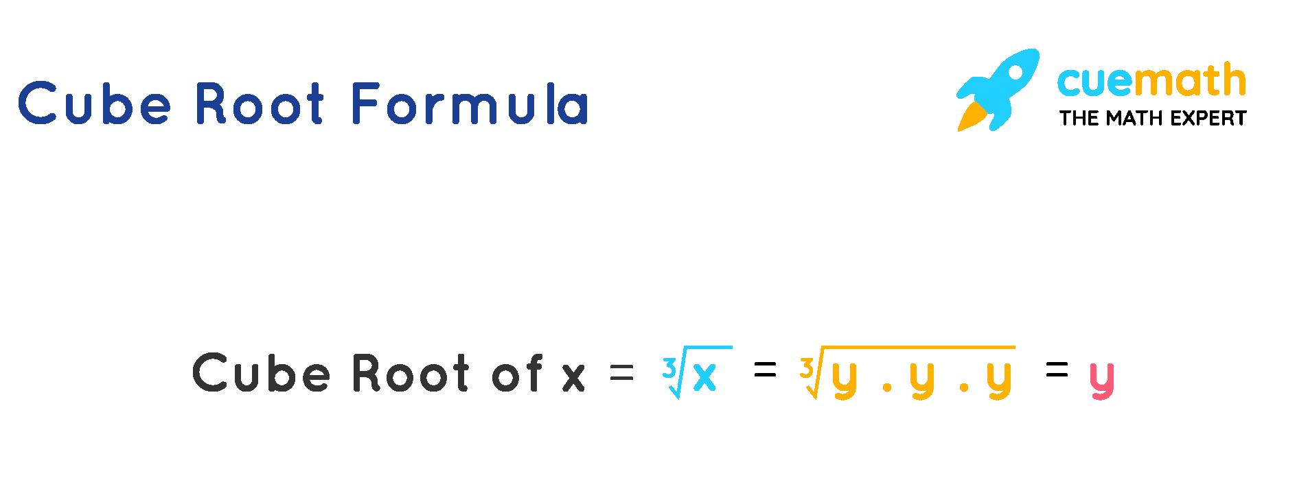 Cube Root Formula