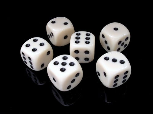 roll the dice is a fun activiity for child