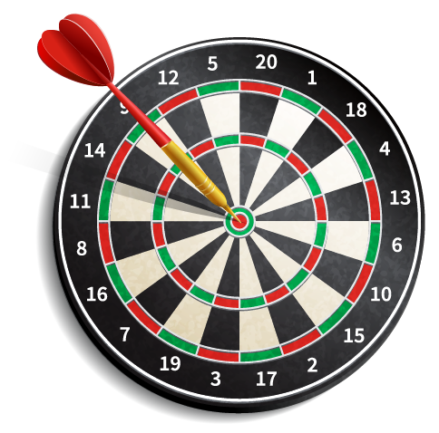 Dartboard: Concentric Circles Example
